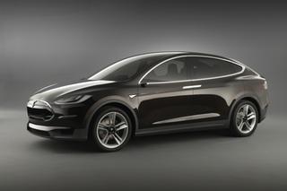 Tesla Modell X - Elektrisch gegen den Strom