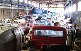 Geheime Sammlung historischer Volvos - Der Schatz im Stahlwerk