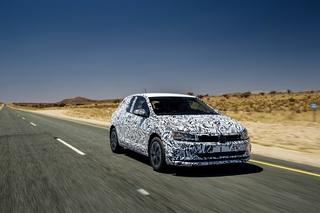 Abnahmefahrt im neuen VW Polo - Zu Höherem berufen
