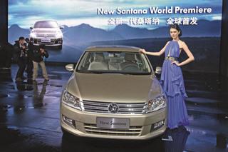 VW Santana - Zweite Runde für den China-Millionär