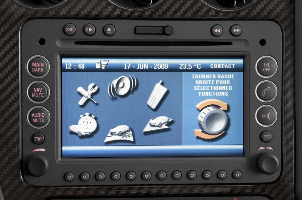 Alfa Romeo Brera - Coupé (2005 - 2011) 3 Türen Radio und Infotainmentsystem