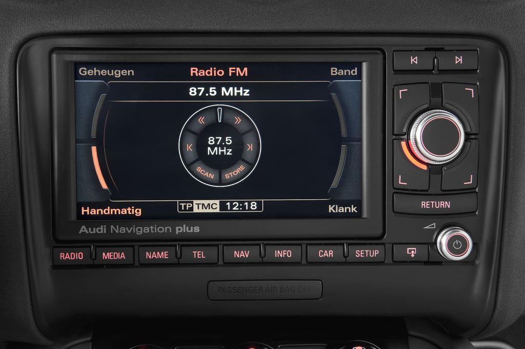 Audi TT - Coupé (2006 - 2014) 3 Türen Radio und Infotainmentsystem