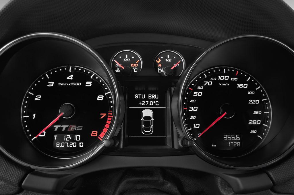 Audi TT - Coupé (2006 - 2014) 3 Türen Tacho und Fahrerinstrumente