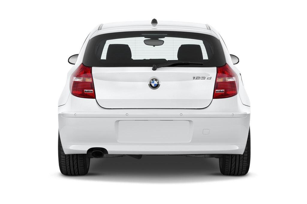 BMW 1er 123d Kompaktklasse (2004 - 2013) 3 Türen Heckansicht