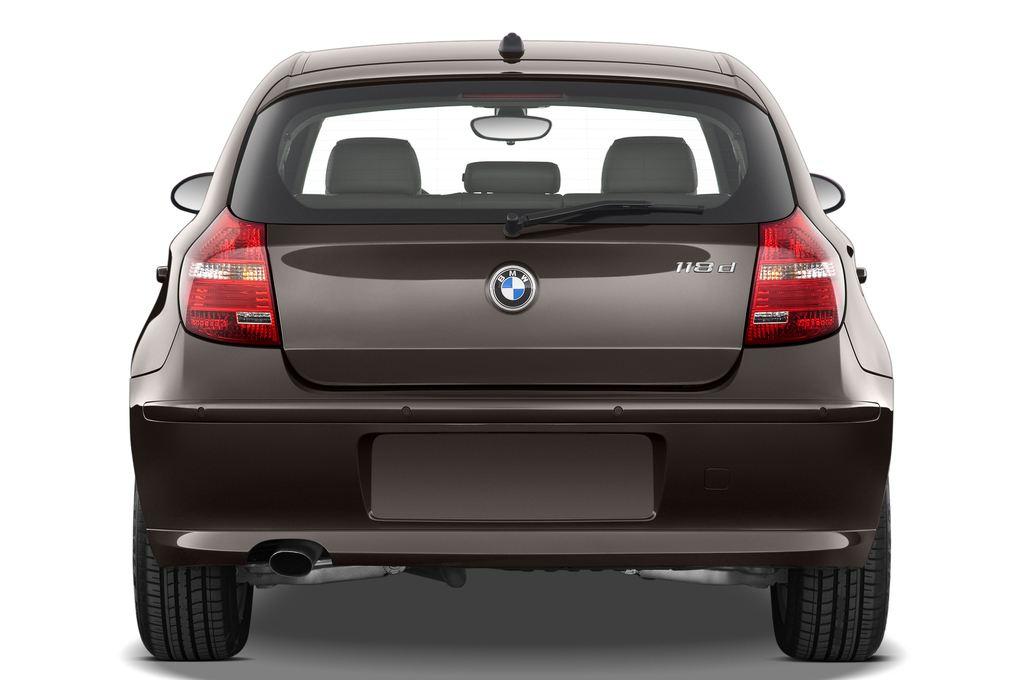 BMW 1er 130i Kompaktklasse (2004 - 2013) 5 Türen Heckansicht