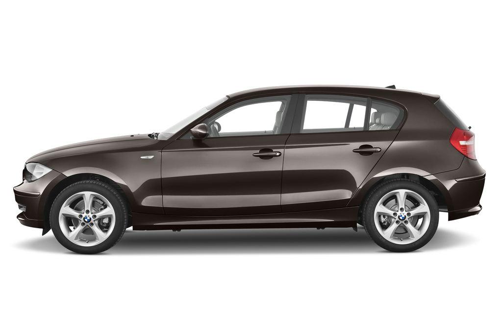 BMW 1er 130i Kompaktklasse (2004 - 2013) 5 Türen Seitenansicht