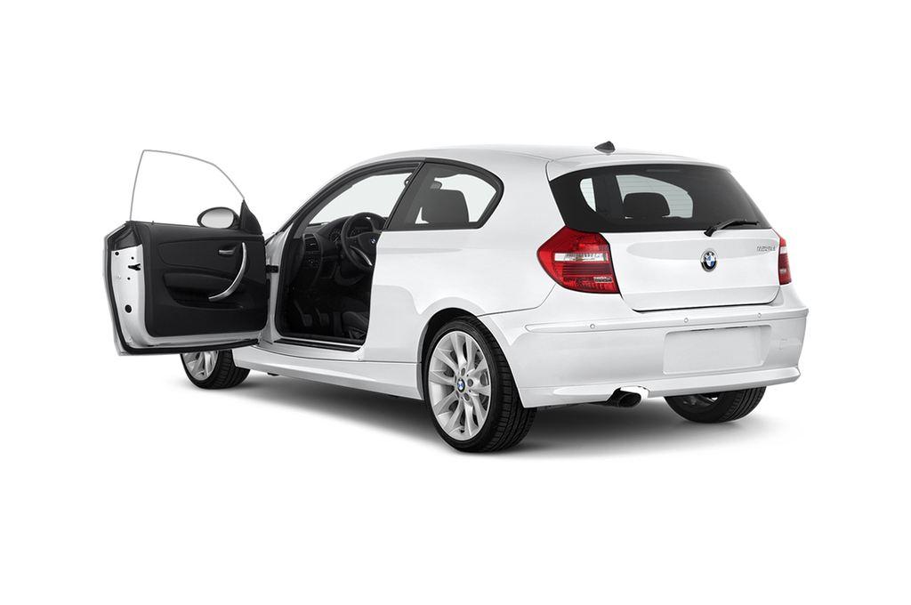 BMW 1er 123d Kompaktklasse (2004 - 2013) 3 Türen Tür geöffnet