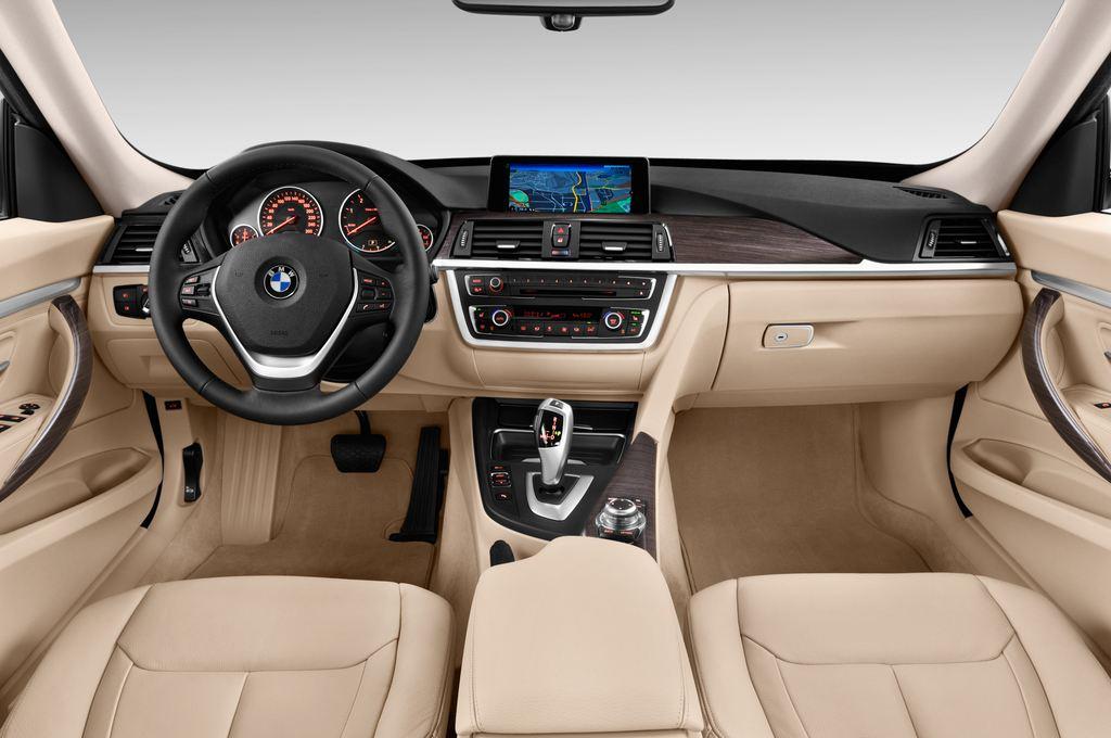 BMW 3er GT Luxury Line Limousine (2013 - heute) 5 Türen Cockpit und Innenraum