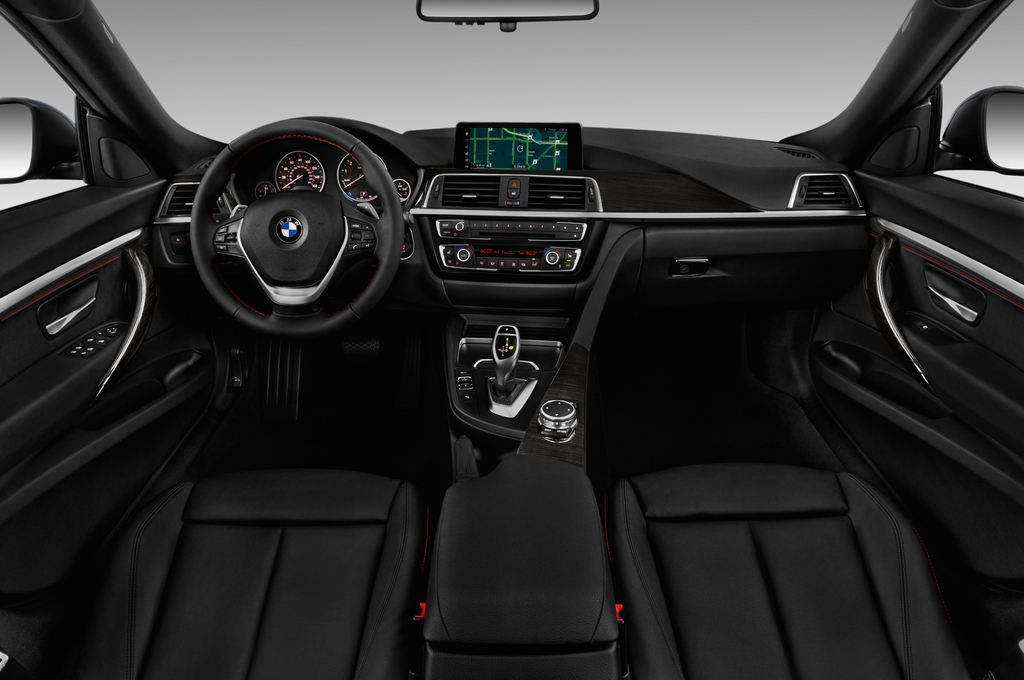 BMW 3er GT Sport Line Limousine (2013 - heute) 5 Türen Cockpit und Innenraum