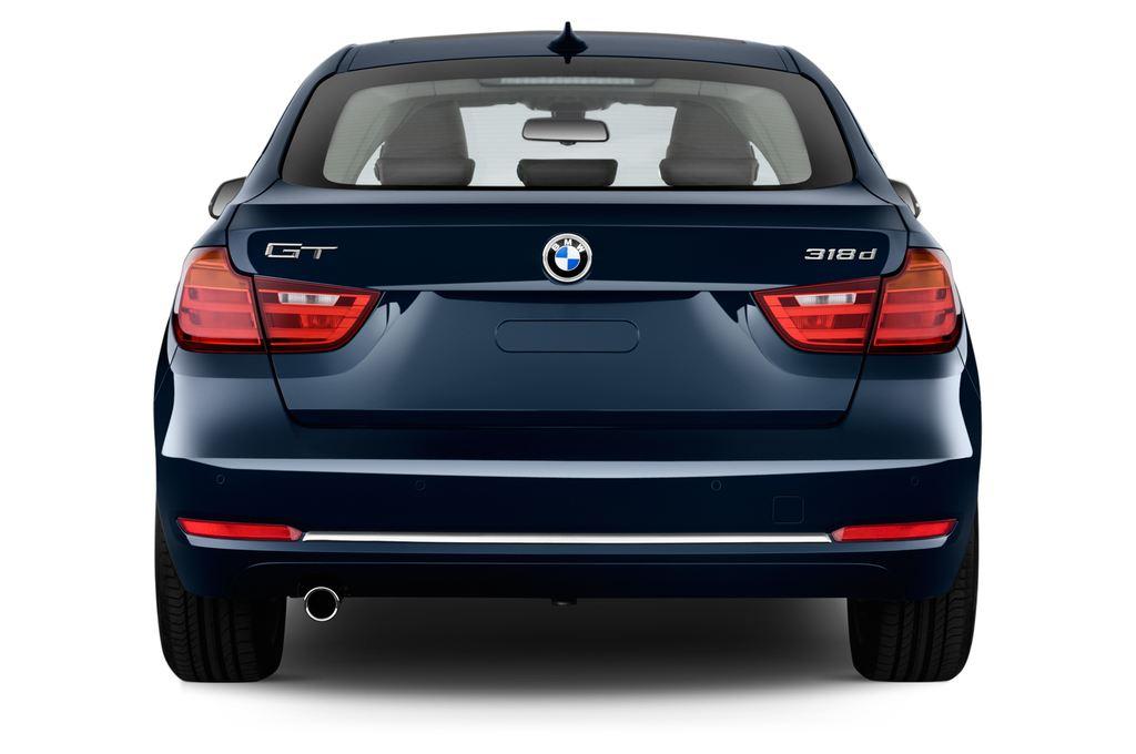 BMW 3er GT Luxury Line Limousine (2013 - heute) 5 Türen Heckansicht