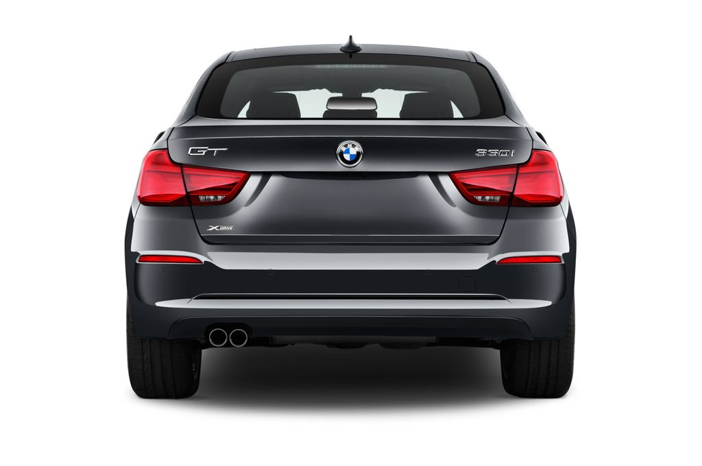 BMW 3er GT Sport Line Limousine (2013 - heute) 5 Türen Heckansicht