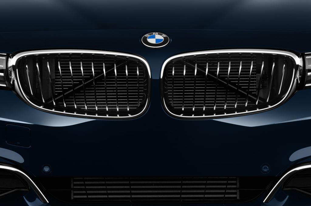 BMW 3er GT Luxury Line Limousine (2013 - heute) 5 Türen Kühlergrill und Scheinwerfer