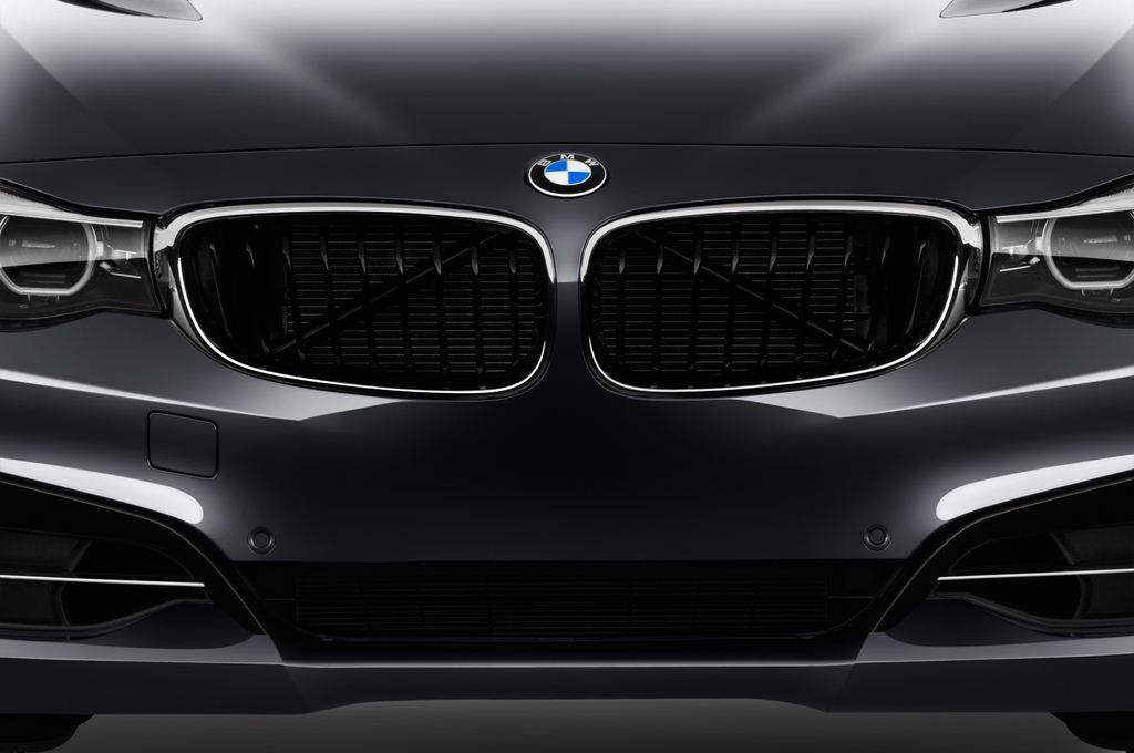 BMW 3er GT Sport Line Limousine (2013 - heute) 5 Türen Kühlergrill und Scheinwerfer