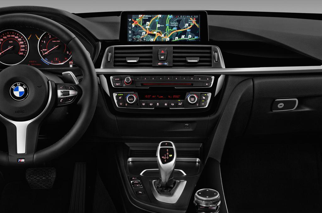 BMW 3er GT M Sport Limousine (2013 - heute) 5 Türen Mittelkonsole