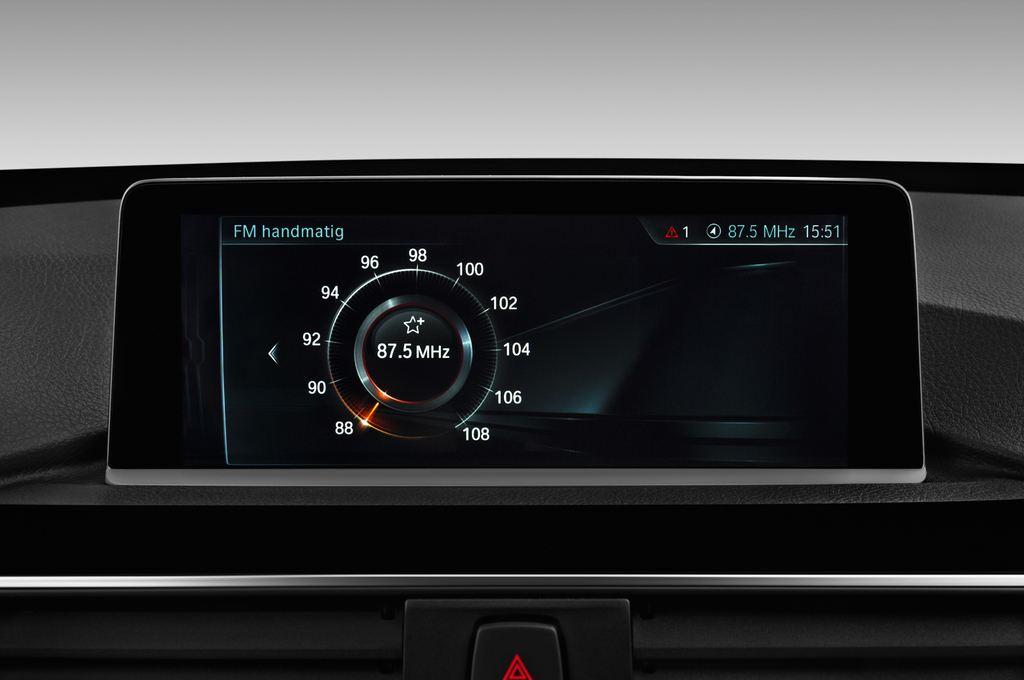 BMW 3er GT M Sport Limousine (2013 - heute) 5 Türen Radio und Infotainmentsystem