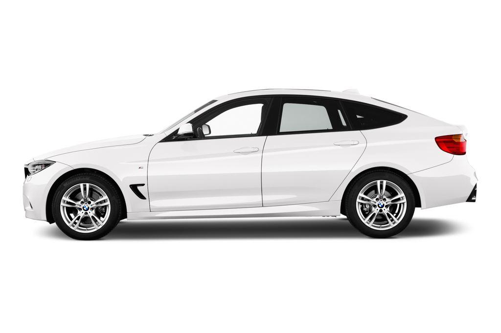 BMW 3er GT - Limousine (2013 - heute) 5 Türen Seitenansicht