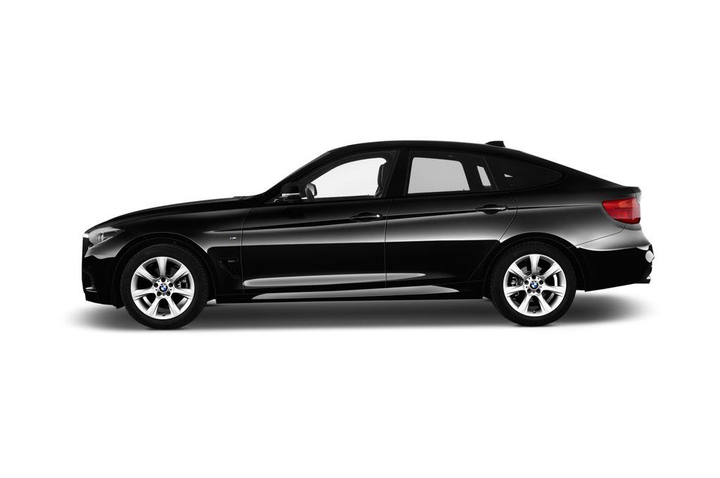 BMW 3er GT M Sport Limousine (2013 - heute) 5 Türen Seitenansicht