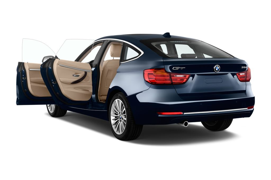 BMW 3er GT Luxury Line Limousine (2013 - heute) 5 Türen Tür geöffnet