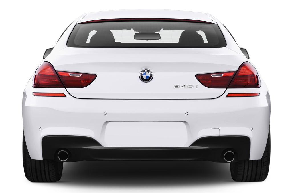 BMW 6er 640i Coupé (2011 - heute) 4 Türen Heckansicht