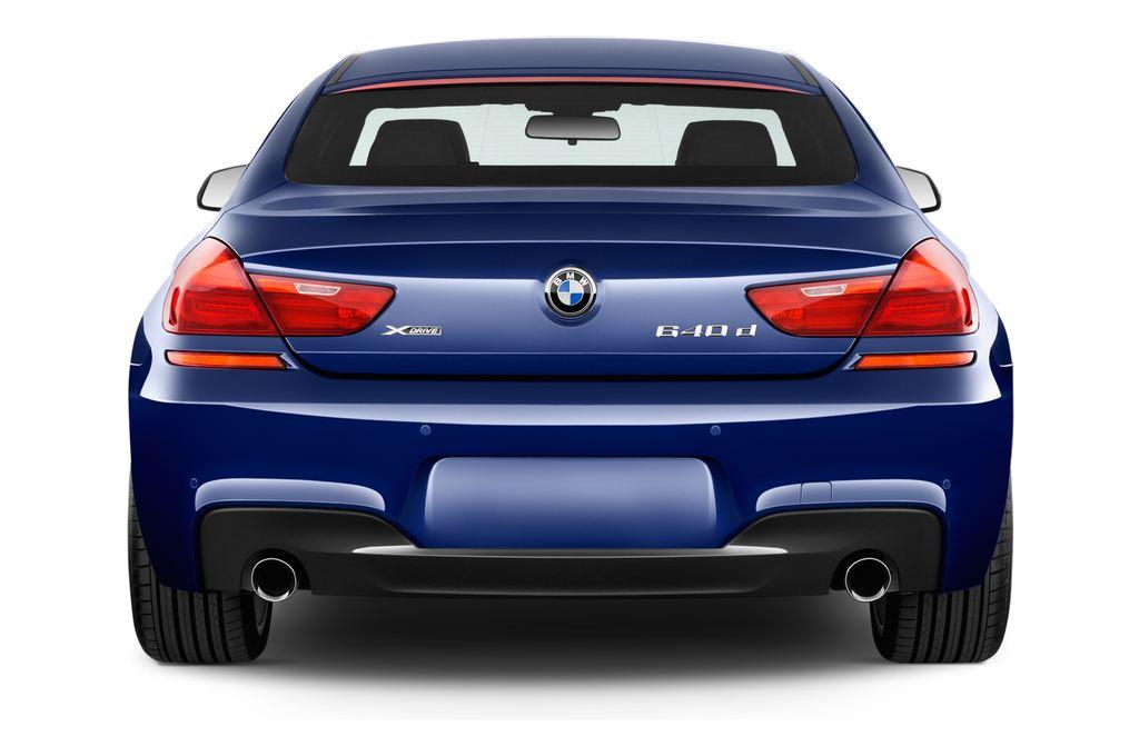 BMW 6er - Coupé (2011 - heute) 4 Türen Heckansicht