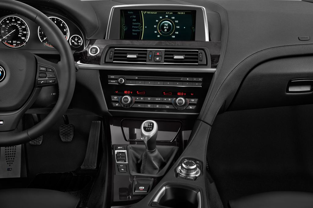 BMW 6er M Sportpaket Coupé (2011 - heute) 2 Türen Mittelkonsole