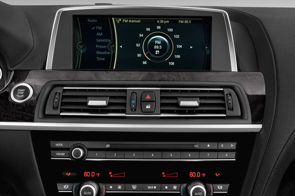 BMW 6er M Sportpaket Coupé (2011 - heute) 2 Türen Radio und Infotainmentsystem