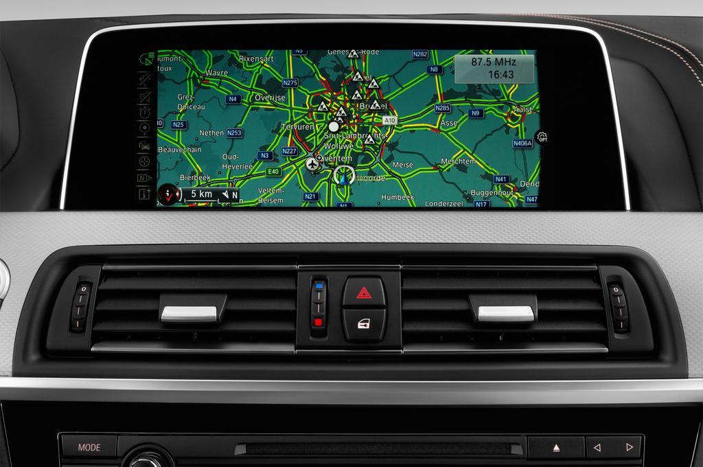 BMW 6er - Coupé (2011 - heute) 4 Türen Radio und Infotainmentsystem