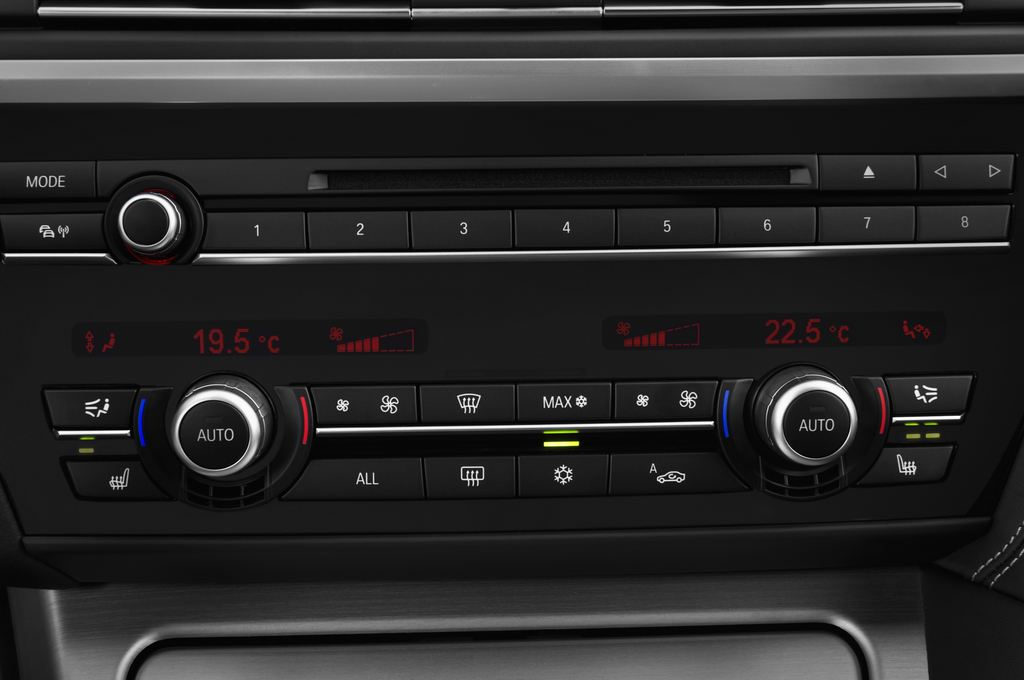 BMW 6er 640i Coupé (2011 - heute) 4 Türen Temperatur und Klimaanlage