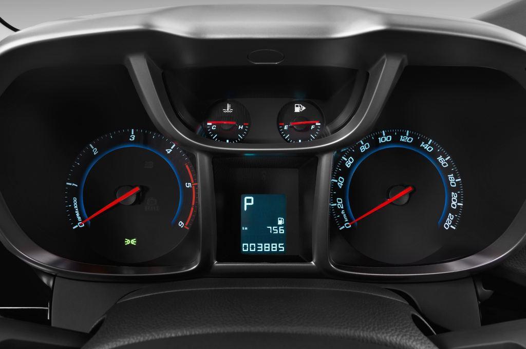 Chevrolet Orlando LTZ SUV (2010 - heute) 5 Türen Tacho und Fahrerinstrumente