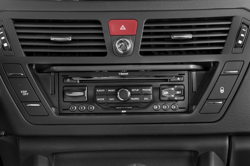 Citroen C4 Picasso Exclusive Van (2006 - 2013) 5 Türen Radio und Infotainmentsystem