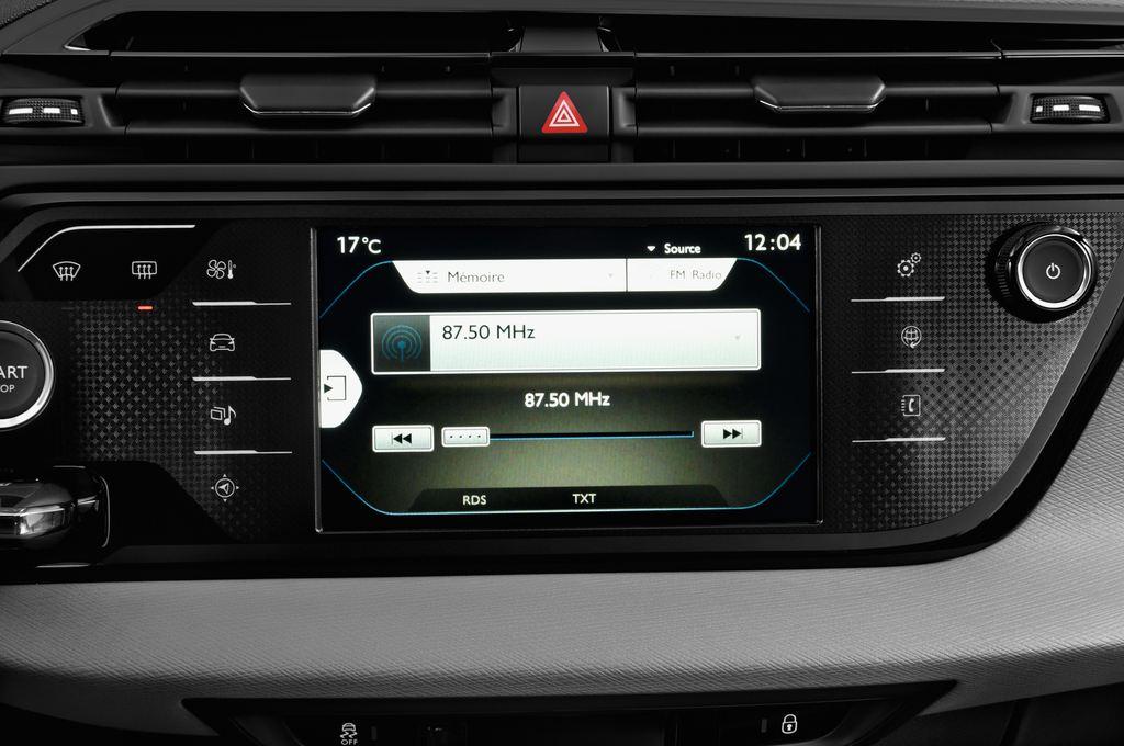 Citroen C4 Picasso Intensive Van (2006 - 2013) 5 Türen Radio und Infotainmentsystem