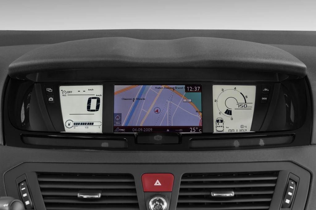 Citroen C4 Picasso Exclusive Van (2006 - 2013) 5 Türen Tacho und Fahrerinstrumente