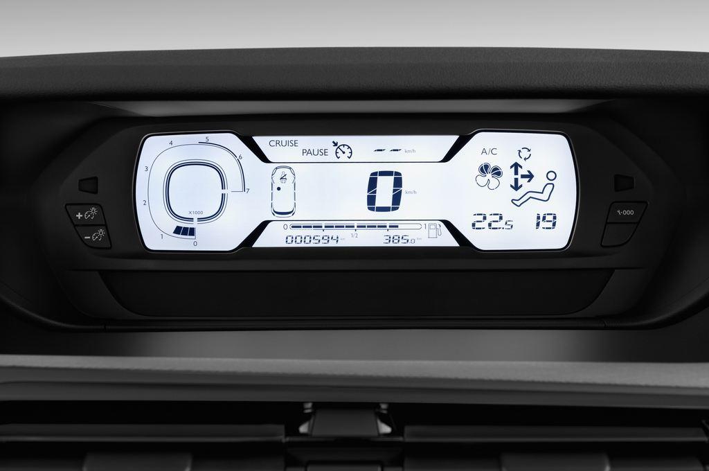 Citroen C4 Picasso Intensive Van (2006 - 2013) 5 Türen Tacho und Fahrerinstrumente