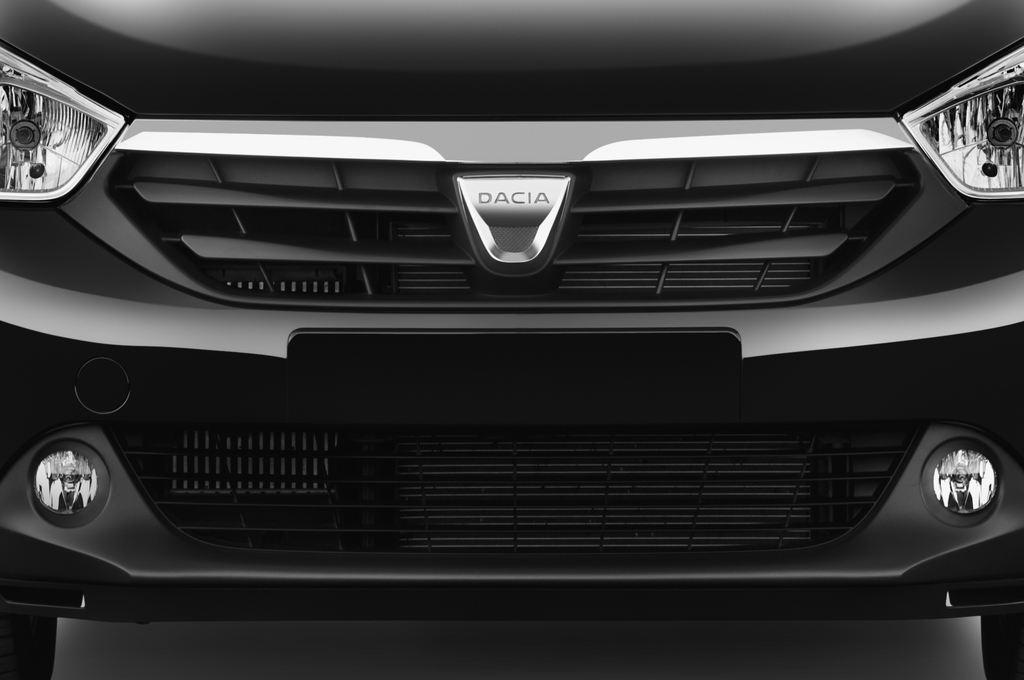 Dacia Lodgy Laur�ate Van (2012 - heute) 5 Türen Kühlergrill und Scheinwerfer