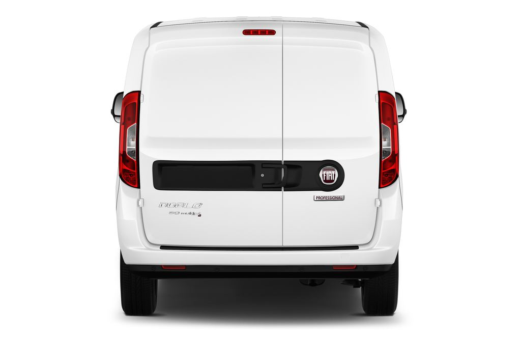Fiat Doblo Basis Transporter (2010 - heute) 4 Türen Heckansicht