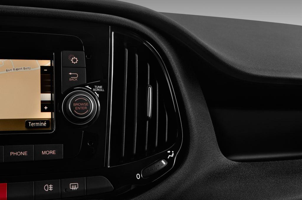 Fiat Doblo Basis Transporter (2010 - heute) 4 Türen Lüftung