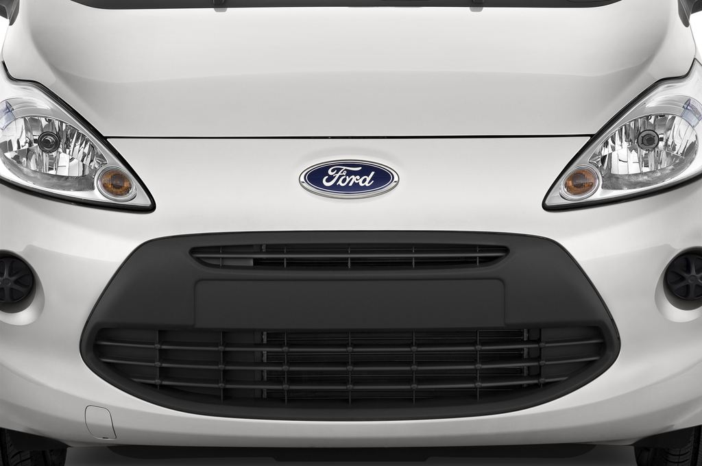 Ford Ka Concept Kleinwagen (2008 - 2016) 3 Türen Kühlergrill und Scheinwerfer