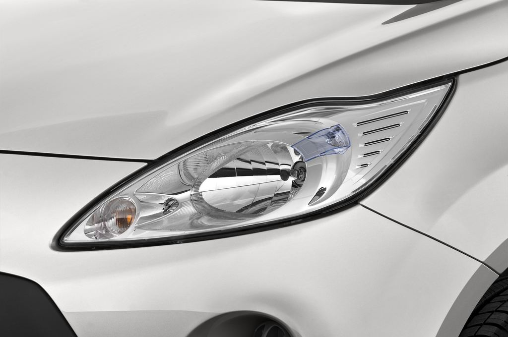 Ford Ka Concept Kleinwagen (2008 - 2016) 3 Türen Scheinwerfer