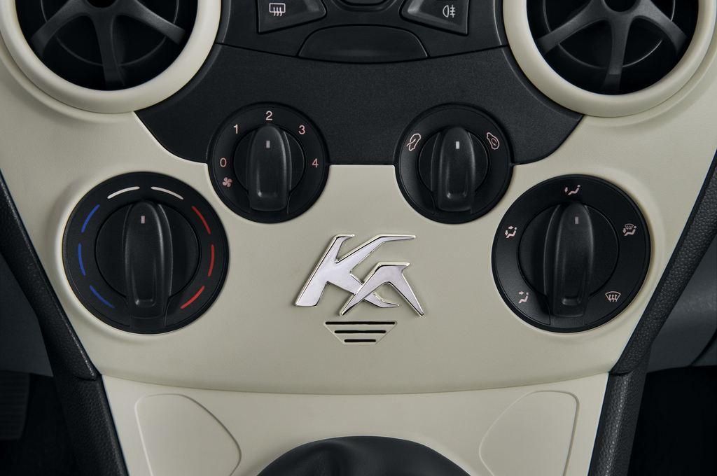 Ford Ka Concept Kleinwagen (2008 - 2016) 3 Türen Temperatur und Klimaanlage