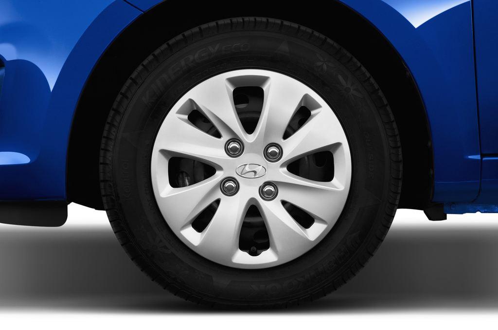Hyundai i10 Classic Kleinwagen (2008 - 2013) 5 Türen Reifen und Felge