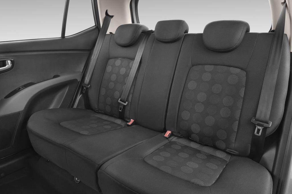 Hyundai i10 Style Kleinwagen (2008 - 2013) 5 Türen Rücksitze