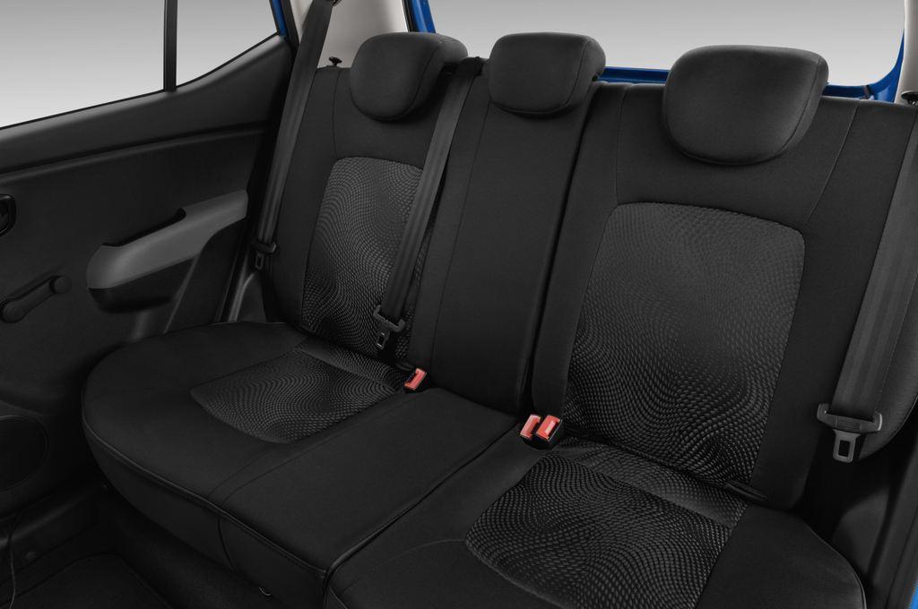 Hyundai i10 Classic Kleinwagen (2008 - 2013) 5 Türen Rücksitze