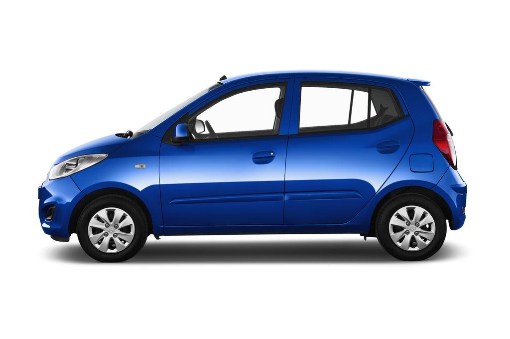 Hyundai i10 Classic Kleinwagen (2008 - 2013) 5 Türen Seitenansicht