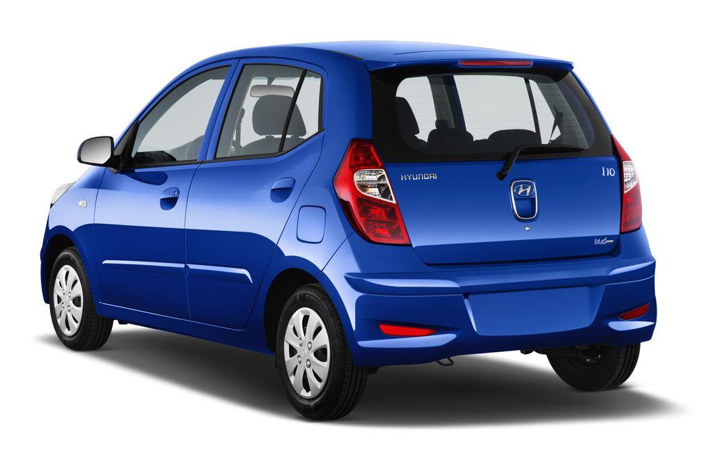 Hyundai i10 Classic Kleinwagen (2008 - 2013) 5 Türen seitlich hinten