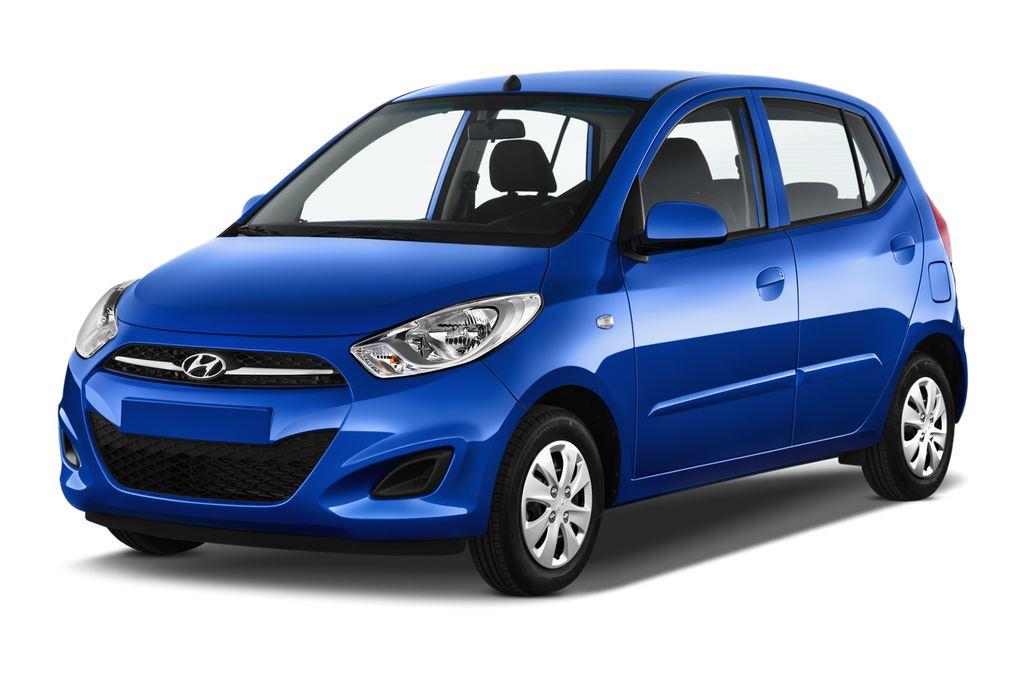 Hyundai i10 Classic Kleinwagen (2008 - 2013) 5 Türen seitlich vorne