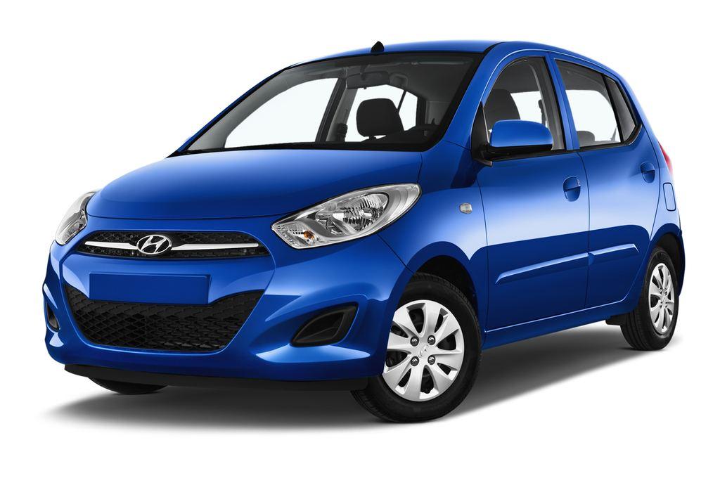 Hyundai i10 Classic Kleinwagen (2008 - 2013) 5 Türen seitlich vorne mit Felge