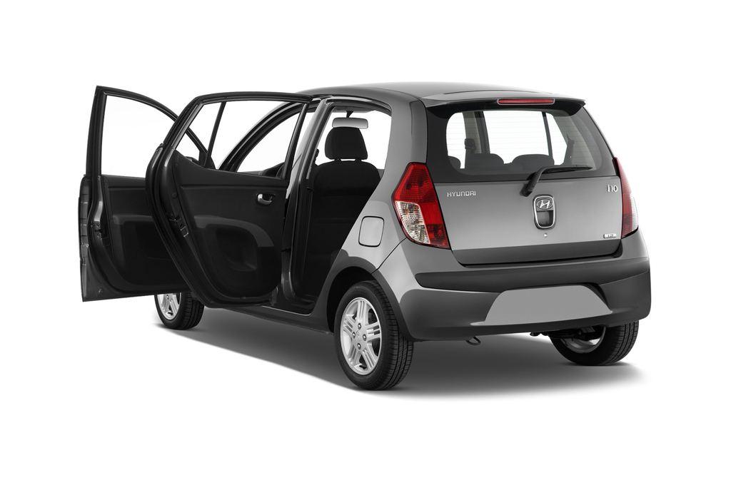 Hyundai i10 Style Kleinwagen (2008 - 2013) 5 Türen Tür geöffnet