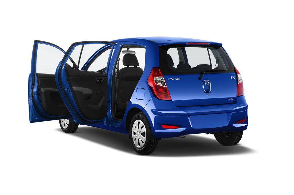 Hyundai i10 Classic Kleinwagen (2008 - 2013) 5 Türen Tür geöffnet