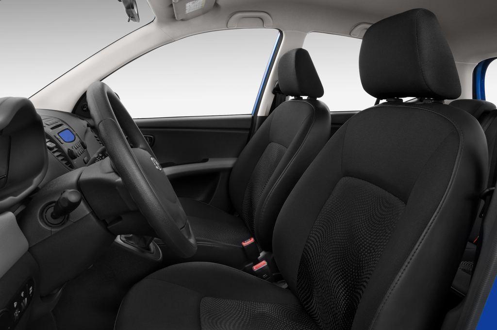 Hyundai i10 Classic Kleinwagen (2008 - 2013) 5 Türen Vordersitze