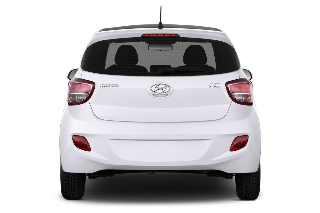Hyundai i10 TREND Kleinwagen (2013 - heute) 5 Türen Heckansicht